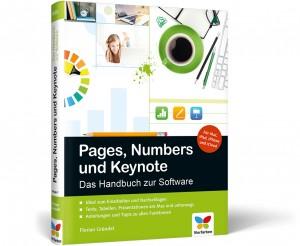 Coverbild von Buch zu Pages, Numbers und Keynote